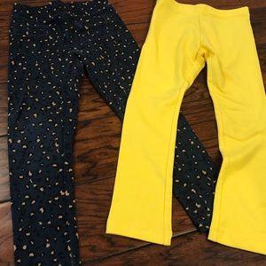 Old Navy Bundle x2 — Girls Leggings, sz 5